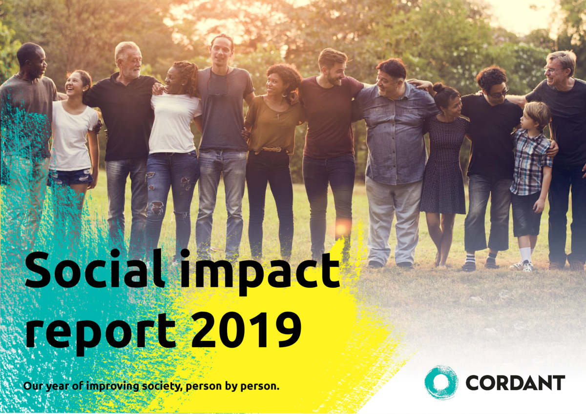 Social impact report 2019 Our year of improving society, person by person.