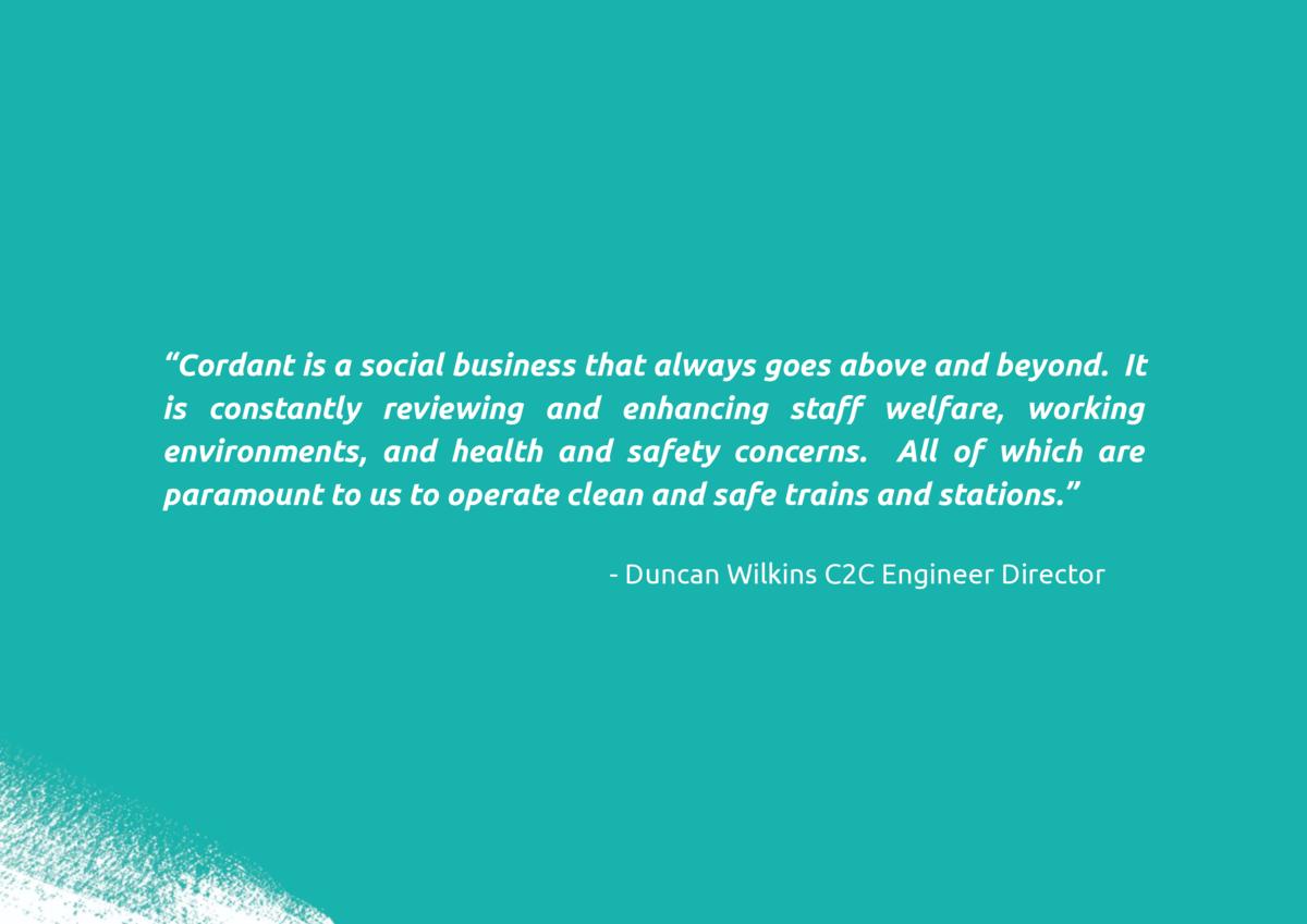 Cordant is a social business that always goes above and beyond. It is constantly reviewing and enhancing sta    welfare...